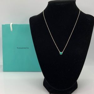 """Tiffany & Co. Turquoise by the yard Necklace 16"""""""